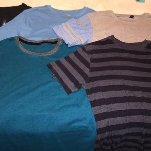 5 Kid shirts, all together $15, different brands!